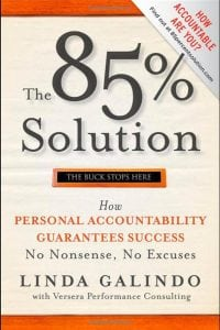Book Review The 85% Solution